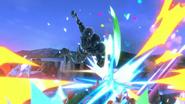 SSBU Dark Samus Meteor Cannon