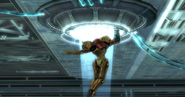 Samus enters Olympus hatch HD