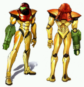 Samus Aran (Metroid Prime) Concept Art 01