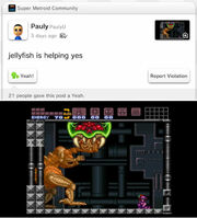 Y can't Metroid crawl jellyfish post