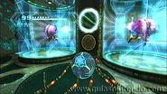 Metroides de phazon dentro de jaulas
