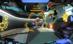 Accidentally freeing a Metroid during a fire fight