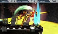 SSB3DS Samus Strong Up