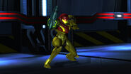 Samus Power Suit Main Sector attack stance HD