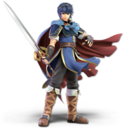 SSB Ultimate Marth render