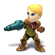 SSB4 Mii Fighter Samus Armor