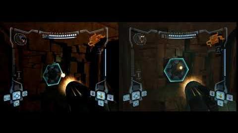 GC vs Wii Ruined Fountain