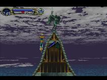 Statue bat