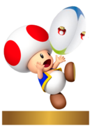 Mario Rugby Trophy - Toad