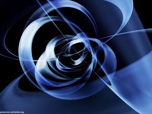 Blue-arcs-3d-wallpaper