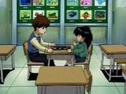 DMx100 Seto and Mokuba play chess