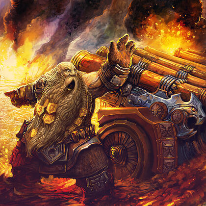 Dwarf gunner by alexboca-d792yvn