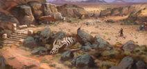 Desert concept art by mikrob-d8cv664