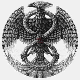 Phoenix crest by aerin kayne-db4h5un