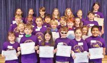 Emily Peters Purple Shirt