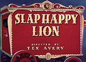 Slap happy lion