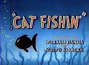 Cat fishin