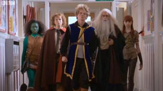 The team in The Dark Wizard