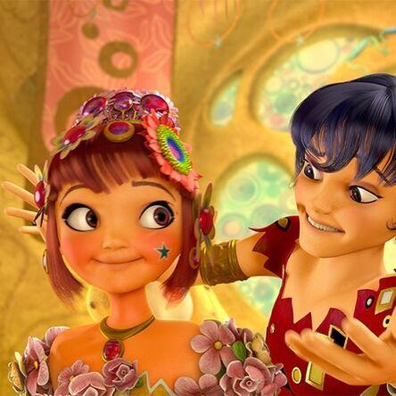 Yuko i mo księżniczka pąsowego kwiatuszka