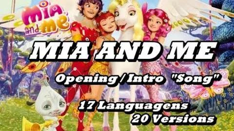 Mia & Me - Opening Multilanguage 18 Languagens 20 Versions! HQ