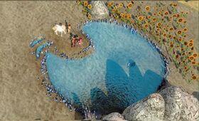Kryształowe jeziorko od góry robi wrażenie