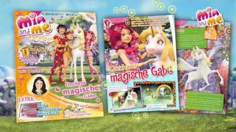 Reklama niemieckiego magazynu