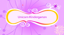 Unicorn Kindergarten