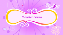 Monster Alarm