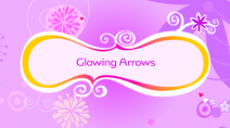 Glowing Arrows