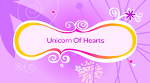 Unicorn of Hearts