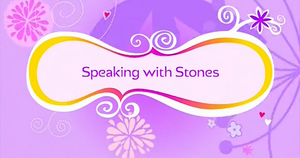Speaking with Stones