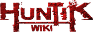 Huntik Wiki Wordmark