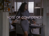 Vote of Confidence