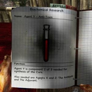 Agent Y notes
