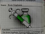 Brain emphasis drug