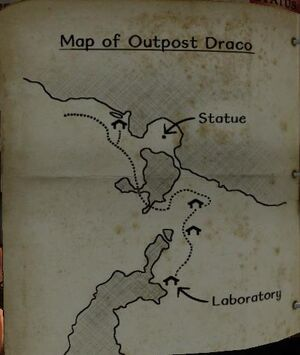 Map of Outpost Draco