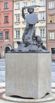 Syrenka na Rynku Starego Miasta