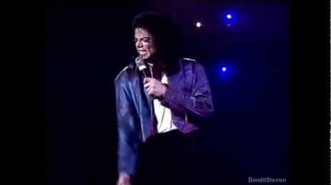 Michael Jackson - Come Together D.S. Live in Auckland