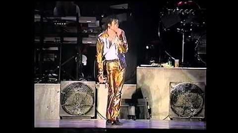 Michael Jackson - Stranger In Moscow Live in Gothenburg 1997