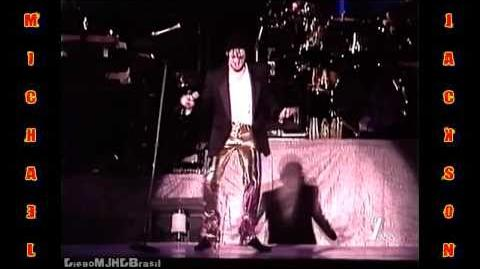 Michael Jackson - Off The Wall Medley HWT Bucharest 1996 HD Remastered