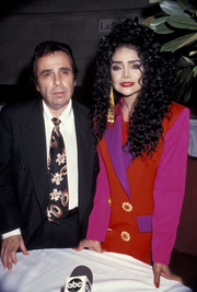 La Toya Jackson and Jack Gordon