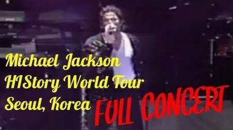 Michael Jackson - HIStory Tour Seoul 1996 - Full Concert - HQ