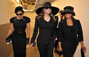 Janet, La Toya and Rebbie Jackson 2009