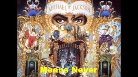 Keep The Faith - Michael Jackson