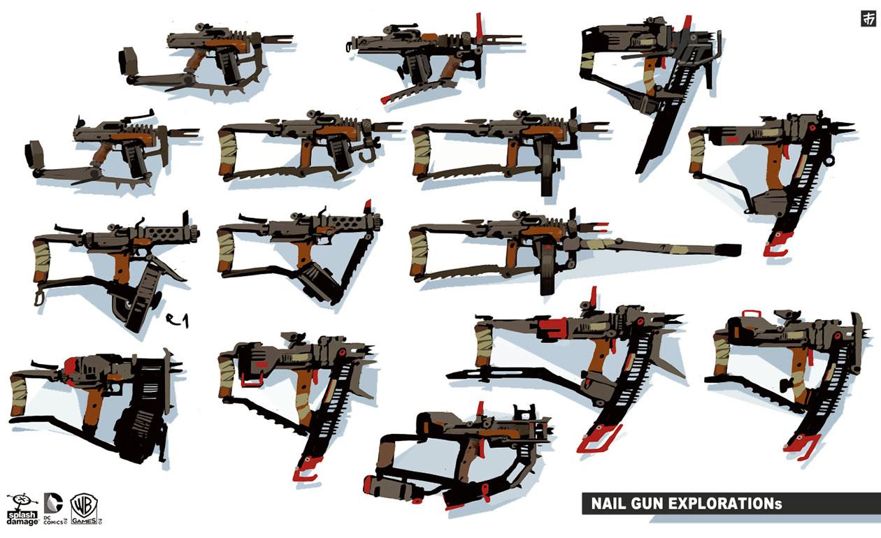 Image - Bao-nail-gun.jpg | Michael Bay: Batman Wiki | FANDOM powered ...