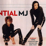 Michael Jackson Janet Jackson SCREAM
