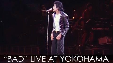 "Michael Jackson - ""BAD"" live Bad Tour in Yokohama 1987 - Enhanced - High Definition-1"
