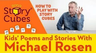 How to Play with Rory's Story Cubes Kids' Poems and Stories With Michael Rosen