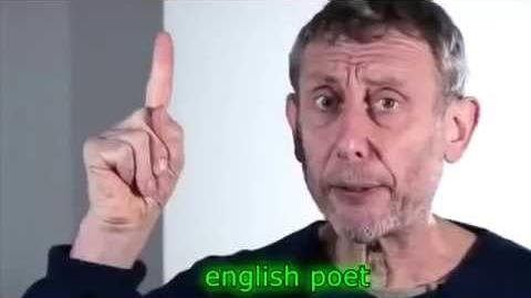 Michael Rosen meets some more anime characters YTP