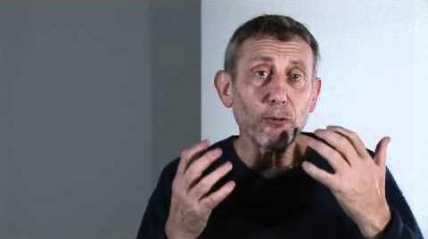 Poetry Friendly Classroom with Michael Rosen Tip 8 - look for secret strings